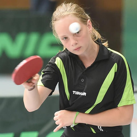 Johanna Binzel beim 3. Platz der VVRL 2018 in Langenlonsheim