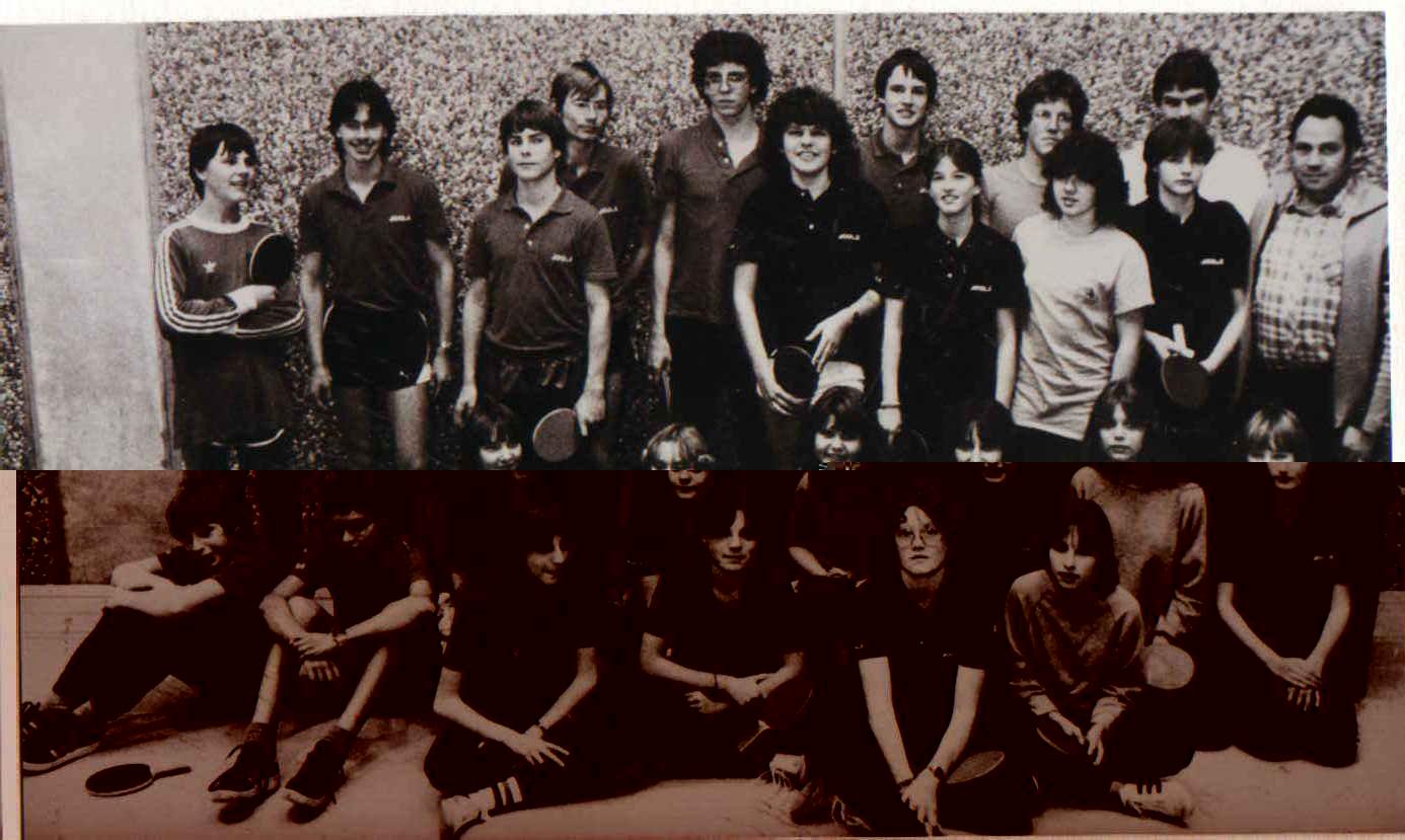 Der Verein 1981